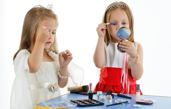 Детский дневной макияж