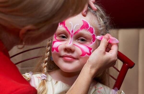 Детский макияж на праздник