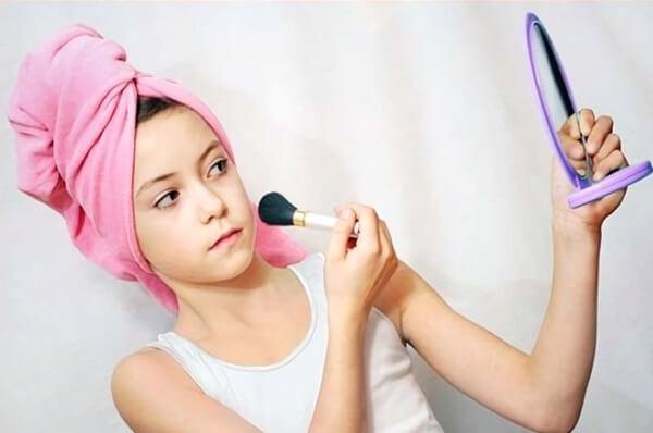 Подрастковый макияж