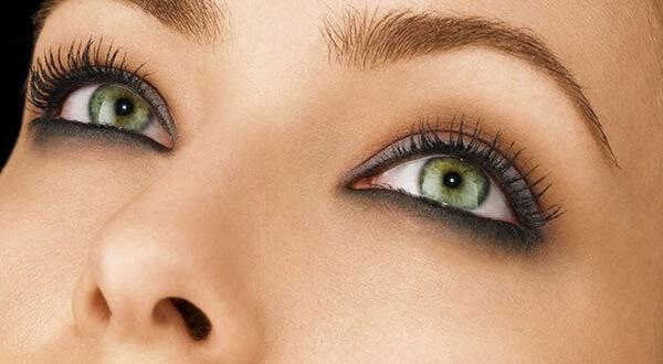 Мейк-ап зеленых глаз