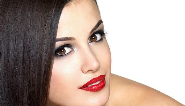 Нанесенный перманентный макияж