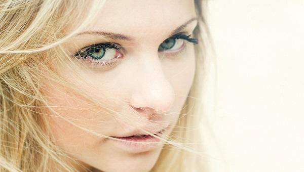 Дневной макияж для зеленоглазой