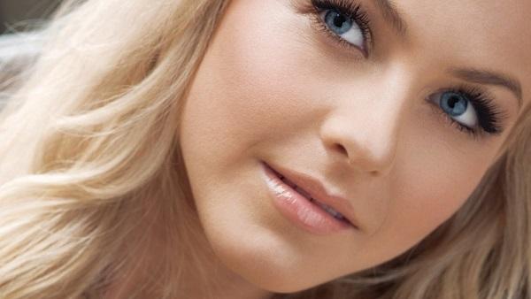 Мейк-ап для светлых волос и голубых глаз