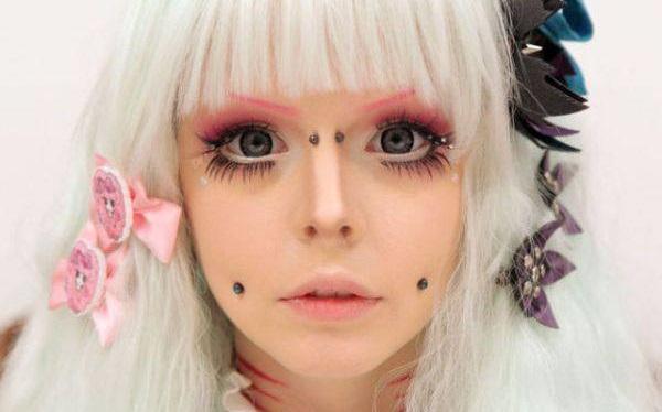 Аниме стиль в макияже