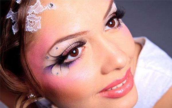 Арт-макияж для свадьбы