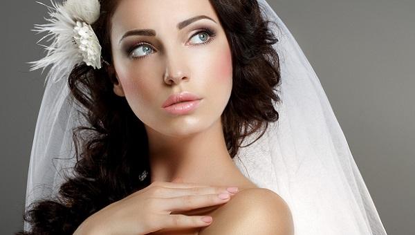 Макияж для свадьбы для брюнетки