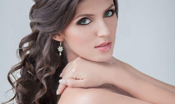 Свадебный макияж под зеленые глаза пошагово
