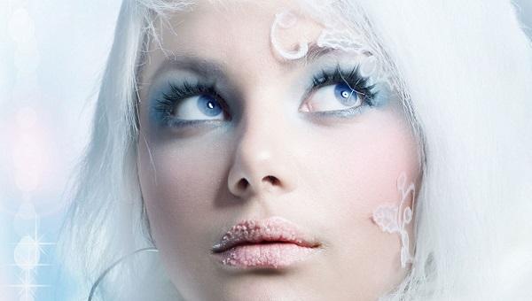 Макияж в стиле Снежной королевы