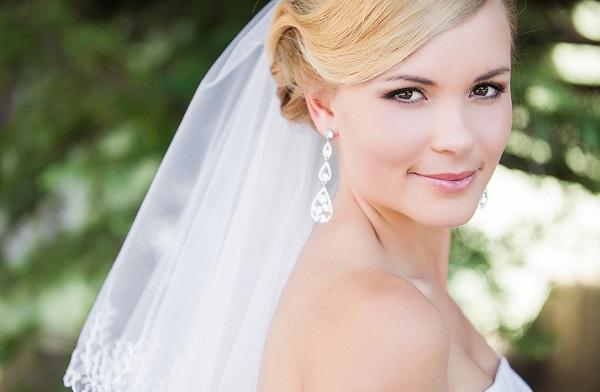 Свадебный макияж в стиле нюд