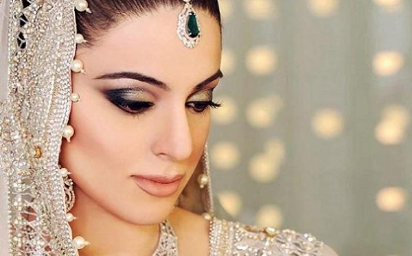 Свадебный макияж в восточном стиле