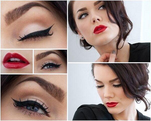 Как сделать вечерний макияж для брюнетки - Женский журнал ХОЧУ 73