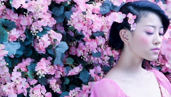 Японский макияж на каждый день