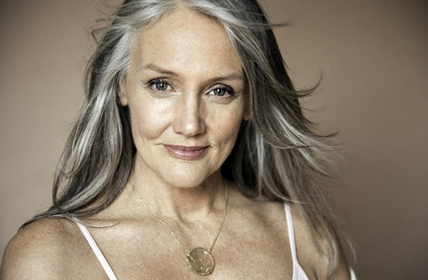 Повседневный макияж для 55-летней
