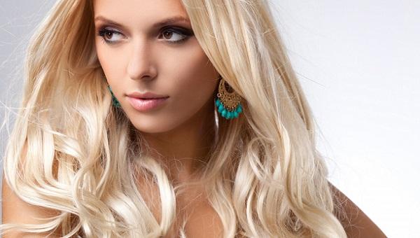 Варинт смоки для светлых волос