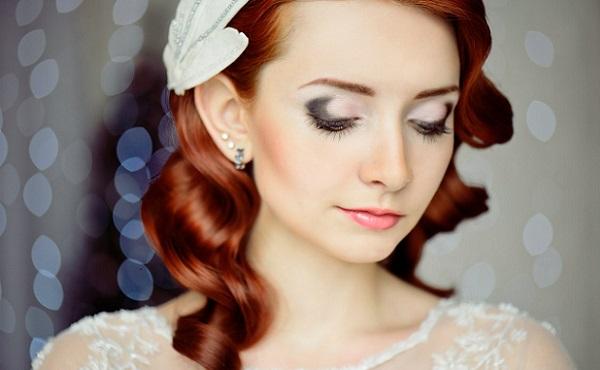 Макияж для рыжеволосой невесты