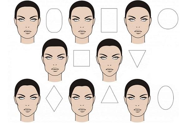 Каждый тип лица имеет свои характерные черты и техника нанесения косметики отличается