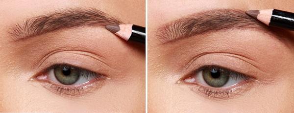 Очертить контурную линию следует перед нанесением макияжа