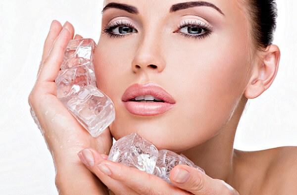 Обработка кожи льдом снизит боль