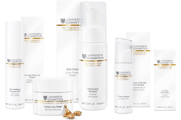 Омолаживающего эффекта кожи можно достичь с помощью косметики Janssen