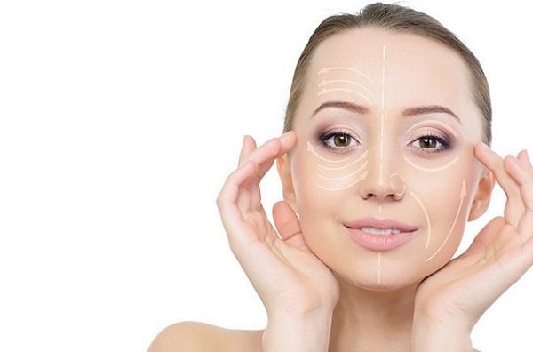 С помощью коррекционного макияжа можно придать лицу необходимые очертания