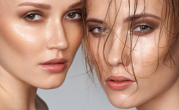 Техника влажного макияжа чаще применяется для создания праздничного образа или для видео