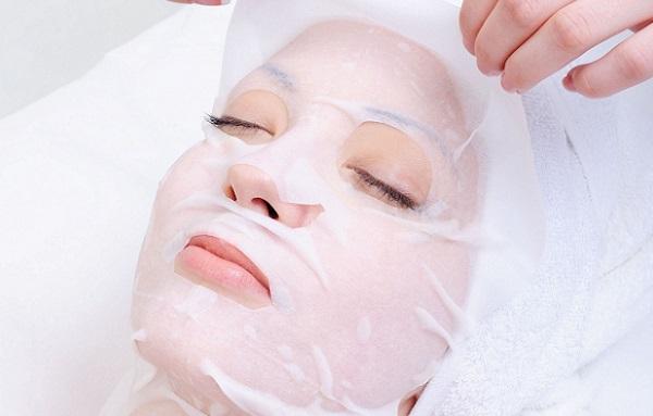 Тканевая маска используется только однократно