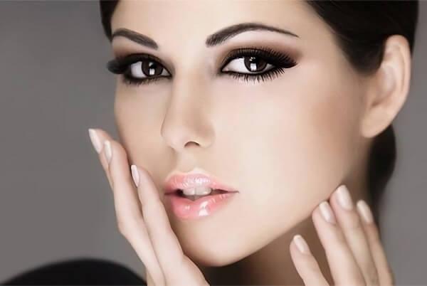 Легкий вечерний макияж