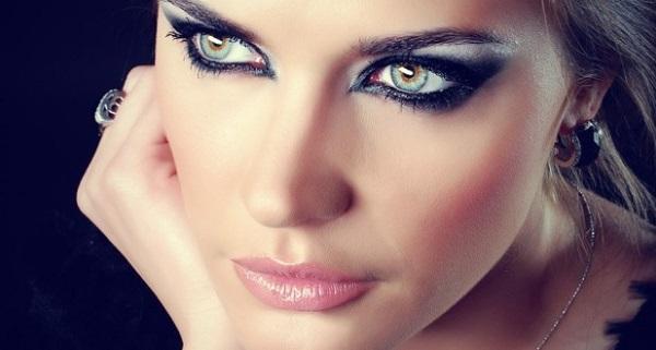 Smoky eyes для зеленых глаз
