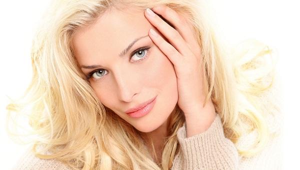 Дневной макияж для серых глаз и кожи теплых тонов