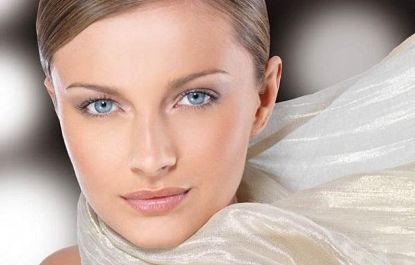 Мейк-ап для серо-голубых глаз и русых волос