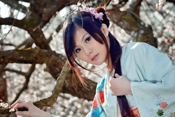 Повседневный макияж в японском стиле