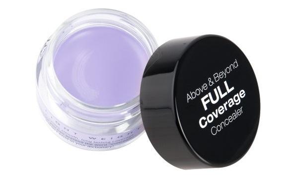 Консилер фиолетового оттенка поможет замаскировать пигментные пятна