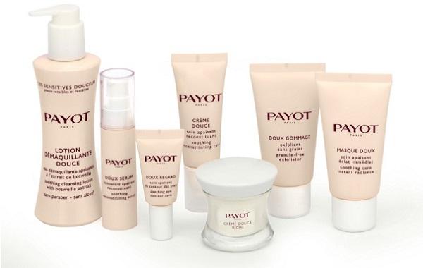 Среди экологических и натуральных средств можно выделить косметику Payot