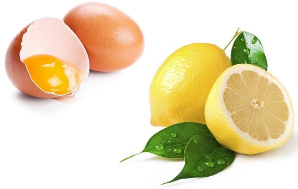 Для придания коже тонуса рекомендуется использовать масло с лимонным соком и желтком